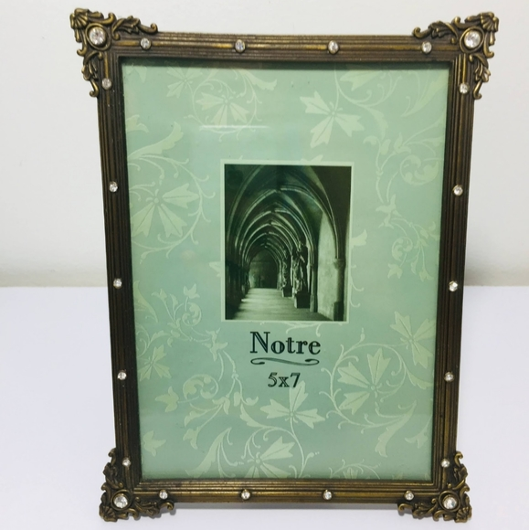 Vintage style bling fake diamond picture frame